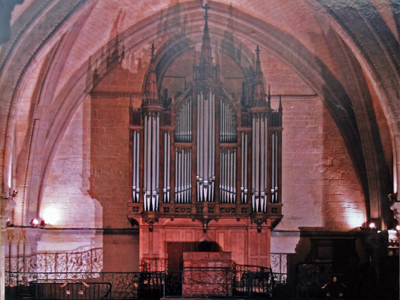 La restauration du Grand Orgue de l'Eglise St Vénérand